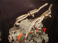 0-540 Lycoming dual 3 into 1 w mufflers and shrouds